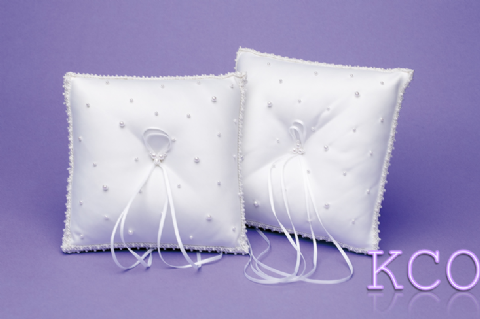 Ring Cushions Style R0164 White~ Special Occasion